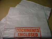 "450 x 600mm (18x24"") White Woven Polypropylene Sacks"