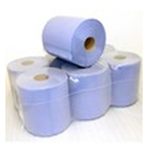 Roll 195mm x 150mtr 2 PlyBlue Centrefeed Hand Towel