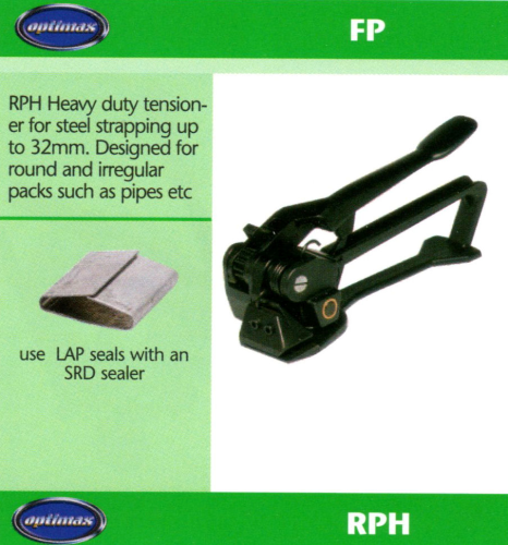 RPH Heavy Duty Steel Strapping Dispenser