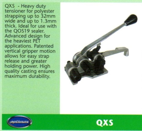 QXS Heavy Duty Polyester Strapping Tensioner