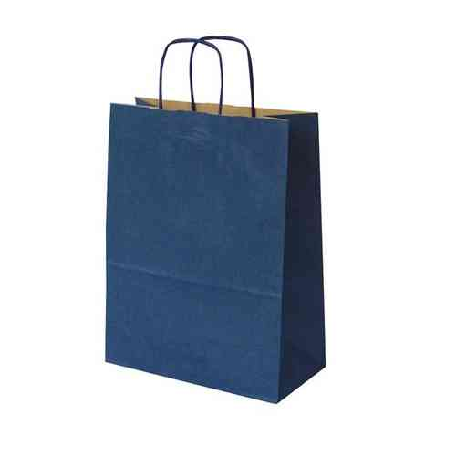 230mm+90mm Coloured Paper Carrier Bag Twisted Handle