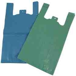 275x415x515mm x 30mic Coloured Low Density Polythene Vest Carriers