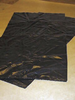 "18x29x39"" x 180g HQ Black Regran Refuse Sack"
