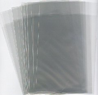 128x178+32mm x 25mic S/A Clear Polypropylene Greeting Card Bag