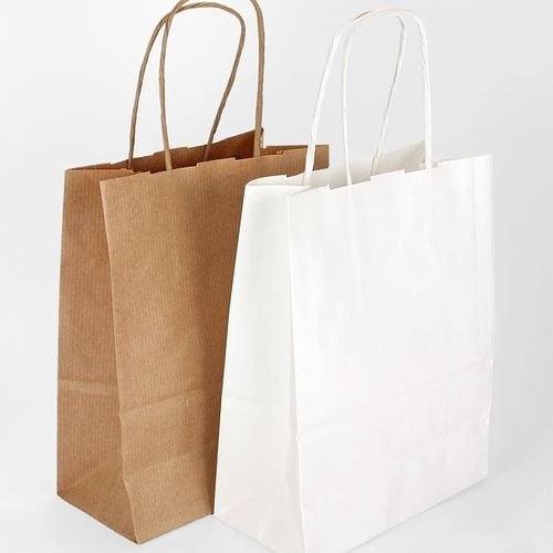 32 x 41 + 14cm Paper Carrier Bag with Twisted Handles
