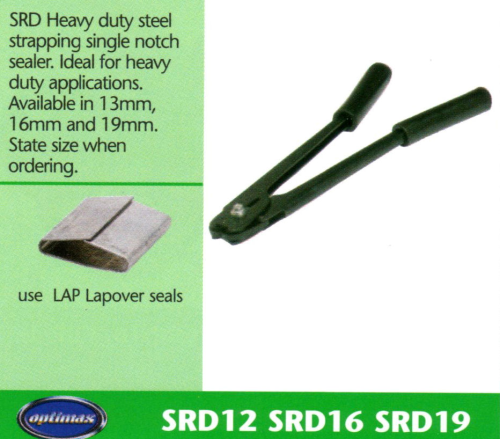 SRD Heavy Duty Steel Strapping Single Notch Sealer
