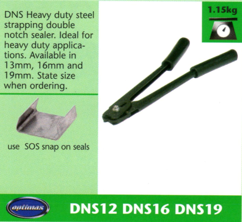 DNS Heavy Duty Steel Strapping Double Notch Sealer