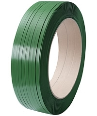 02PET158 15.5mm x 0.85mm x 1500mtrs Extruded Polyester Strapping