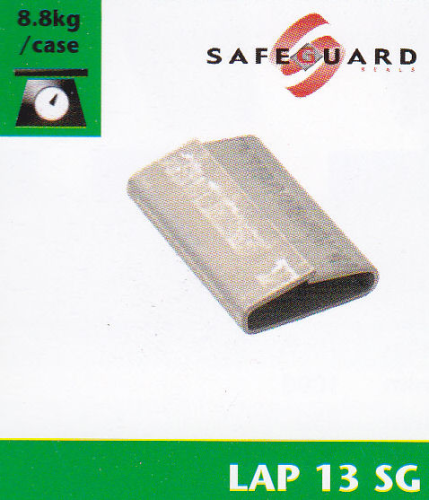 LAP13SG 13mm x25mm Strapping Seal