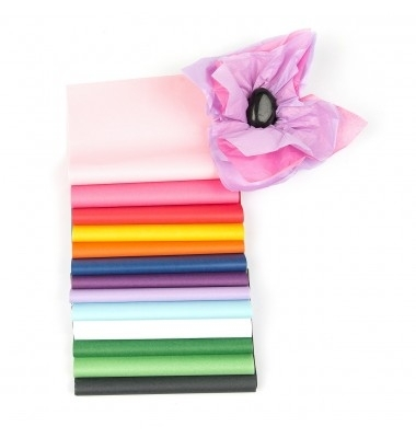 500 x 750mm H/Q Acid Free Coloured Tissue Paper